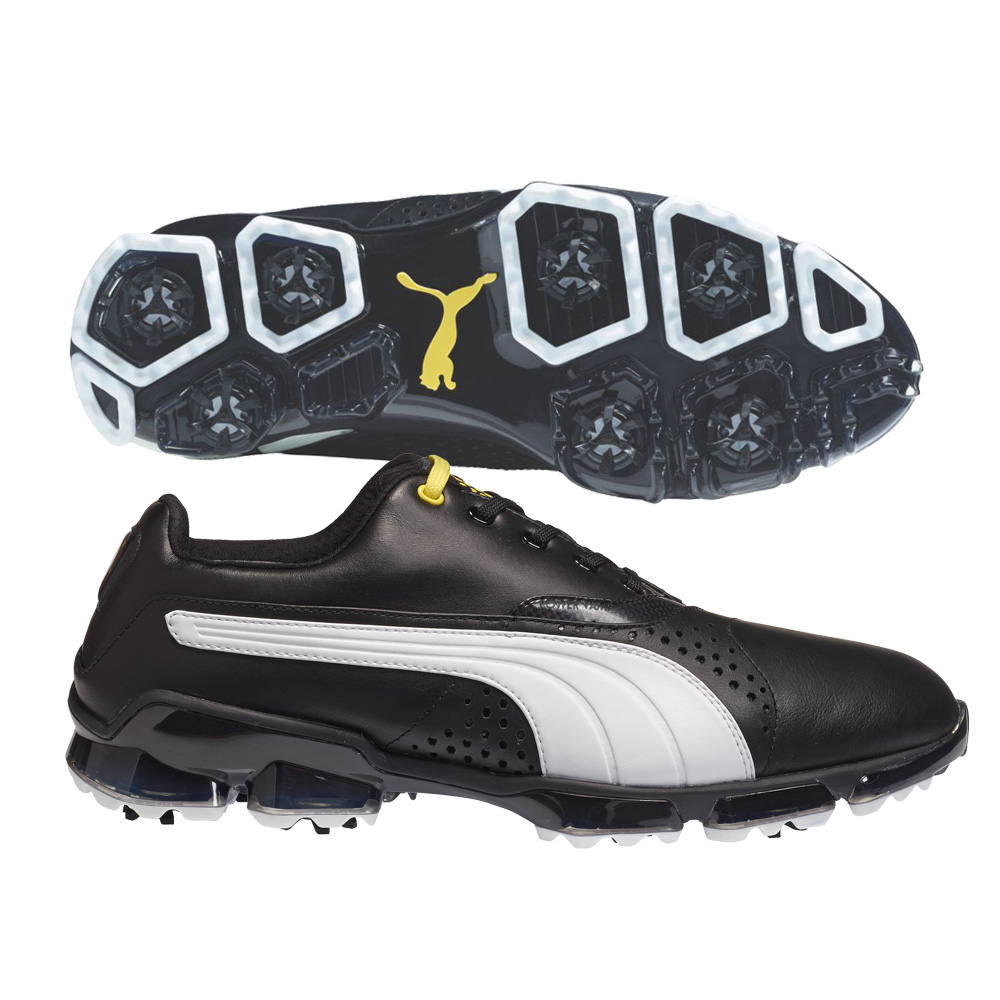 Puma Golf Shoes Mens - Puma Titantour Black White