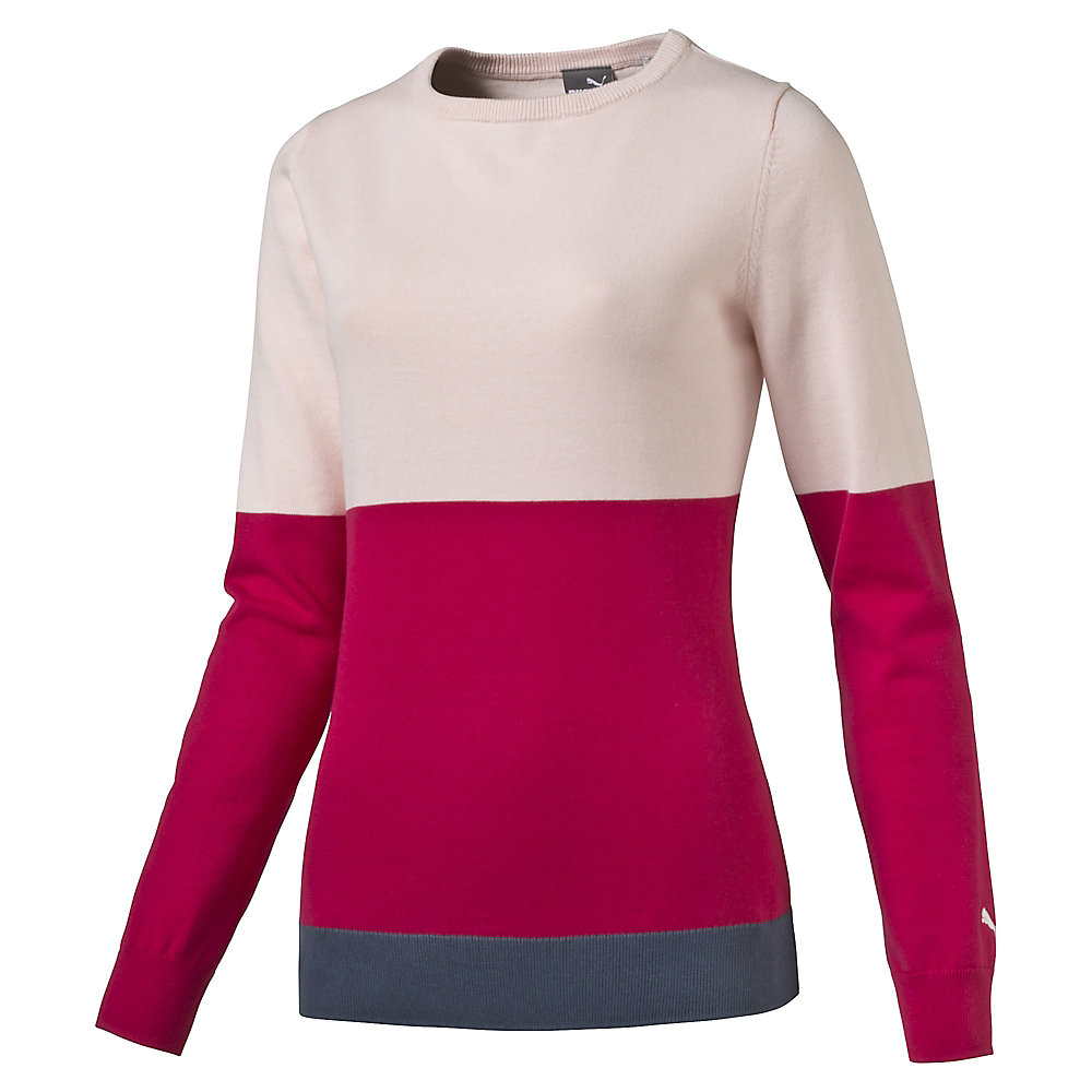 Women's Colorblock Golf Sweater | PUMA Golf