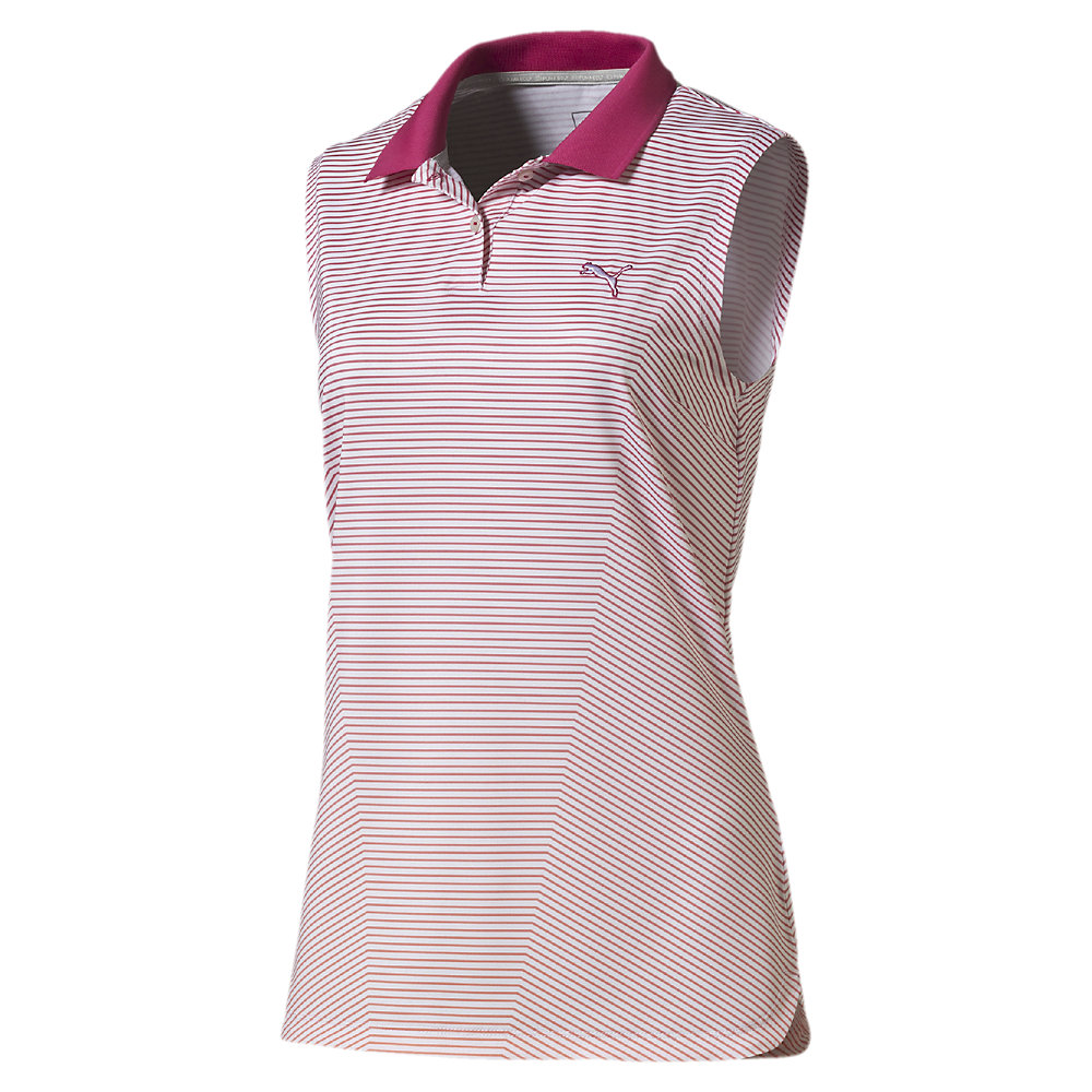 ... 3D Stripe Sleeveless Golf Polo. Previous; Next