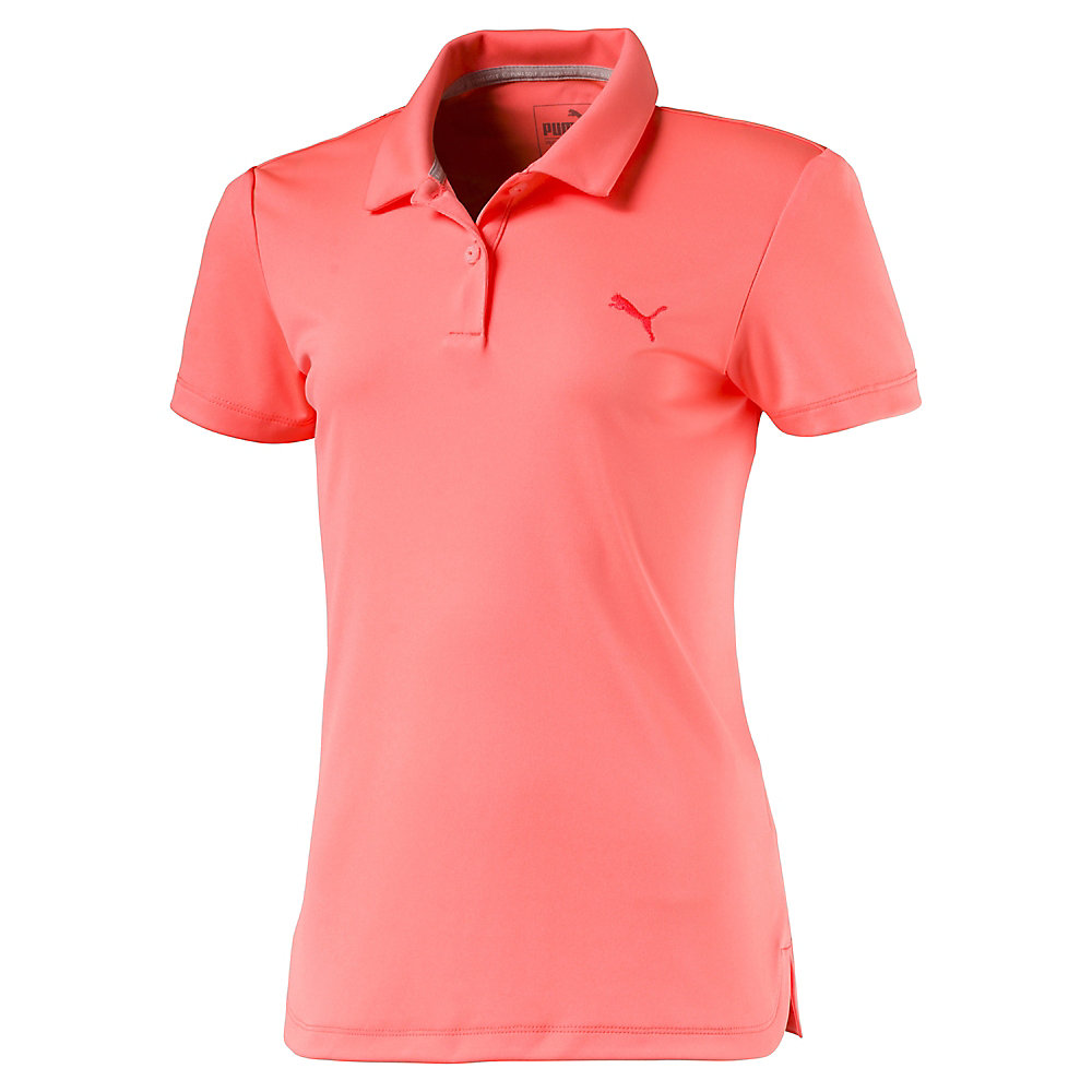 Junior Girls Pounce Golf Polo Puma Golf