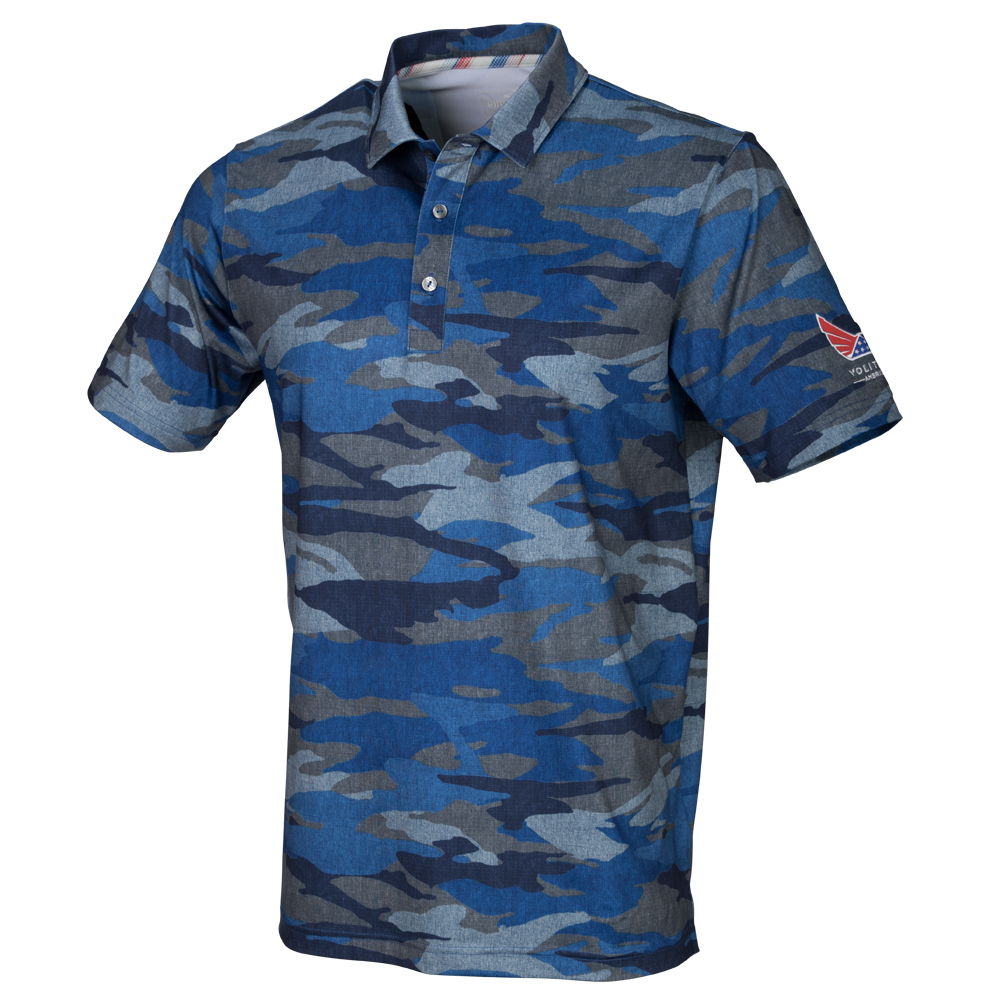 aa8fc507 Juniors Volition Camo Golf Polo | PUMA Golf