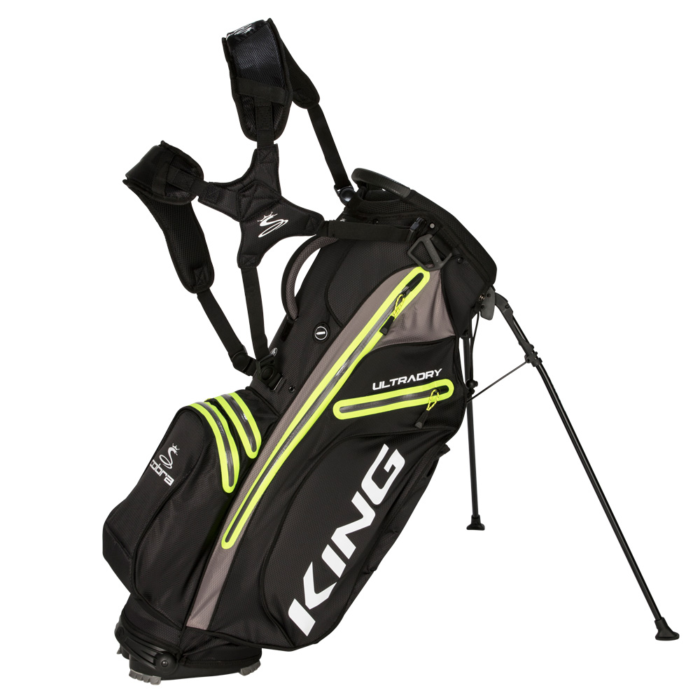 KING Ultradry Stand Bag | CO Golf on golf pull carts, golf club bag, golf trolley, golf stand bag, golf galaxy, golf push carts, golf travel bag, golf course accessories supplies, golf gifts, golf shopping bag, golf digest hot list bags, golf pants,