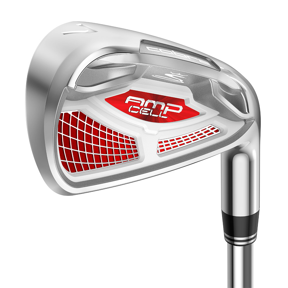 Cobra AMP Cell Red Golf Club Irons