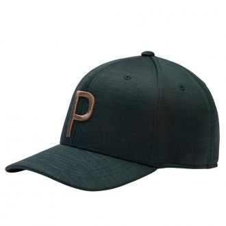 P 110 Snapback Golf Cap - Pomegranate