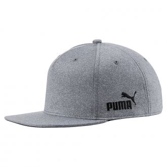 Cresting Snapback Golf Cap - Medium Gray Heather