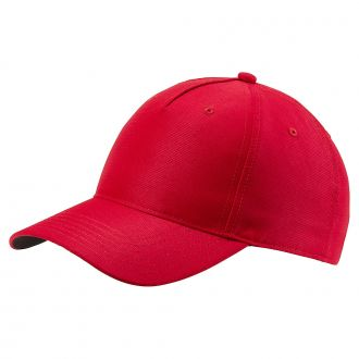 Cresting Adjustable Golf Cap - High Risk Red