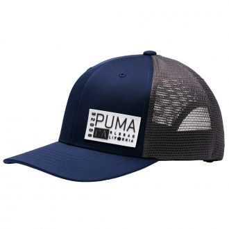 CA Trucker Snapback Golf Cap - Peacoat