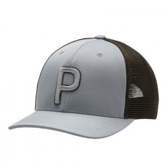 Trucker P Snapback Golf Golf Cap - Quarry