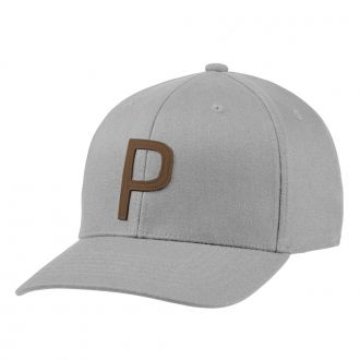 P 110 Snapback Golf Cap - Bright White