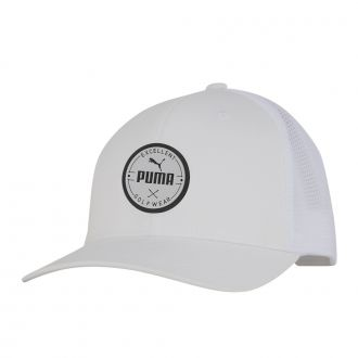 PUMA Golf Wear Circle Patch Cap - Bright White
