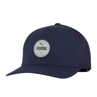PUMA Golf Wear Circle Patch Cap - Peacoat
