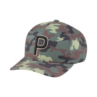 Youth Camo P Snapback Cap