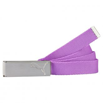 Women's Path Web Belt - Purple Cactus Flower