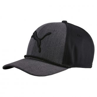 Youth #GOTIME Rope Cap - Medium Gray Heather / Puma Black