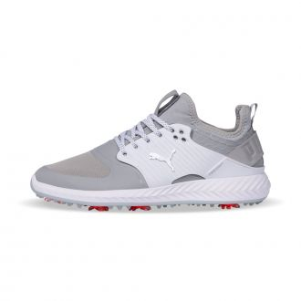 IGNITE PWRADAPT Caged Golf Shoes - Quiet Shade/ Silver / Black