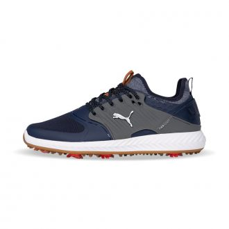 IGNITE PWRADAPT Caged Golf Shoes - Peacoat / Silver/ Quiet Shade