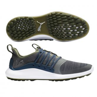 IGNITE NXT SOLELACE Golf Shoes - Quiet Shade / Puma Silver / Dark Denim