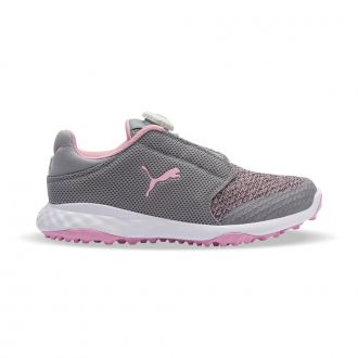 Grip Fusion Sport Junior DISC Golf Shoes - Limestone / Lilac Sachet