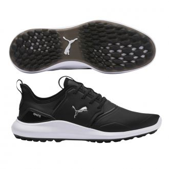 IGNITE NXT Pro Golf Shoes - Puma Black / Puma Team Gold / Puma White