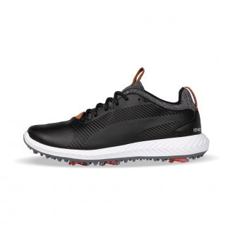 Youth IGNITE PWRADAPT 2.0 Golf Shoes - Puma Black / Puma Black
