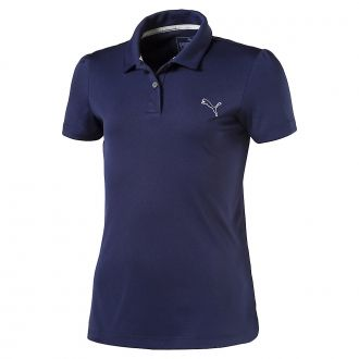 Junior Girls Pounce Golf Polo - Peacoat