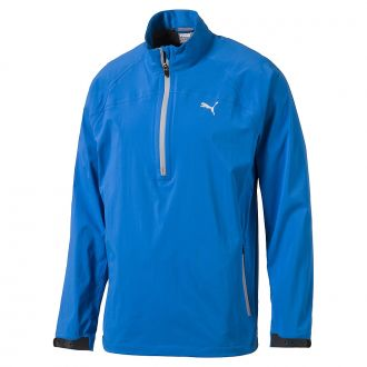 Longsleeve Rain Golf Popover - French Blue