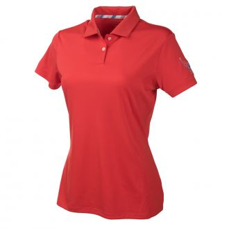 Women's Volition Pounce Polo - High Risk Red