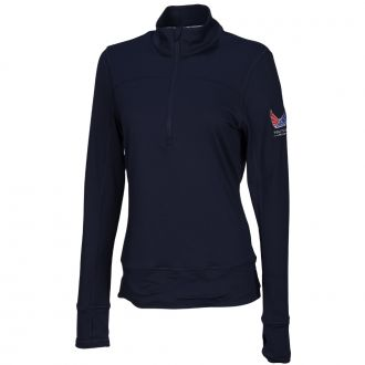 Women's Volition 1/4 Zip Popover - Peacoat