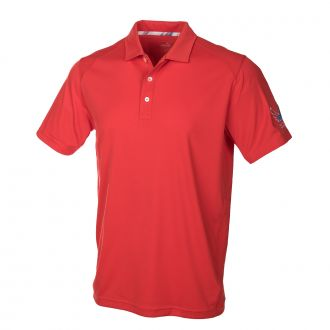 Juniors Volition Pounce Polo - High Risk Red