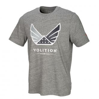 Volition Tee - Medium Gray Heather