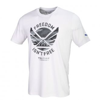 Volition Freedom Tee - Bright White