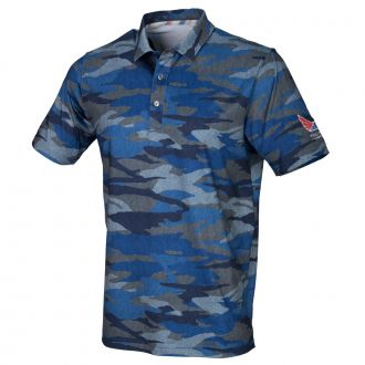 Juniors Volition Camo Golf Polo