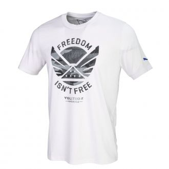 Juniors Volition Freedom Tee - Bright White