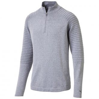 EVOKNIT Performance 1/4 Zip - Quarry