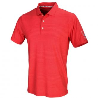 Volition Supersonic Golf Polo - High Risk Red