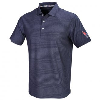 Volition Supersonic Golf Polo - Peacoat
