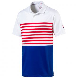 Volition CK6 Flag Golf Polo - Surf The Web