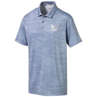 Volition Signature Golf Polo - Vintage Indigo