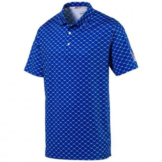 Volition Wings Golf Polo - Surf The Web