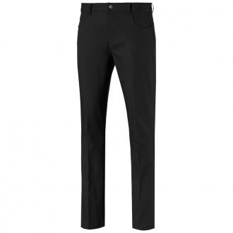 Jackpot 5 Pocket Golf Pants - Puma Black