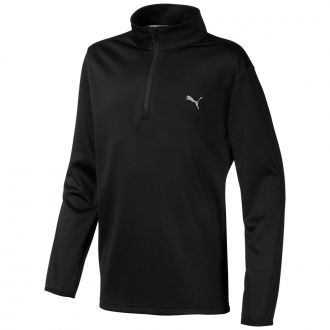 Juniors 1/4 Zip - Puma Black