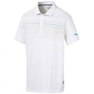 Limelight Golf Polo - Bright White / Sulphur