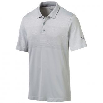 EVOKNIT Ombre Golf Polo - Quarry