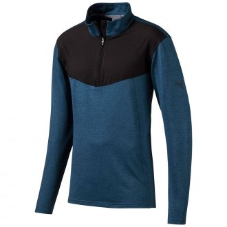 Preston Golf 1/4 Zip - Gibraltar Sea