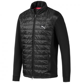 Quilted Primaloft Golf Jacket - Puma Black