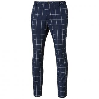 Plaid Golf Pants - Peacoat