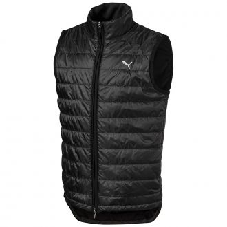 Juniors Quilted Golf Vest - Puma Black