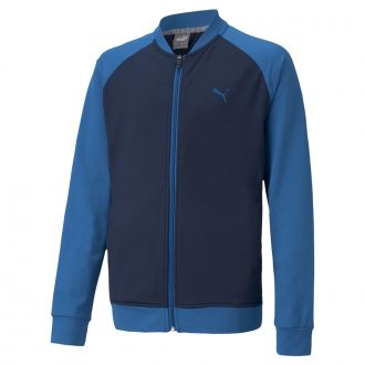 Juniors Full Zip Golf Jacket - Quarry