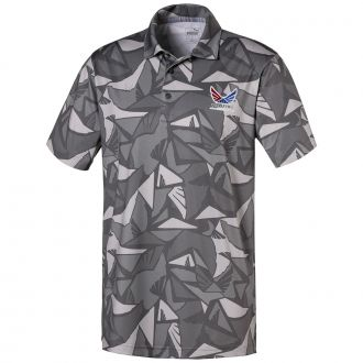 Volition Americamo Golf Polo - Quiet Shade
