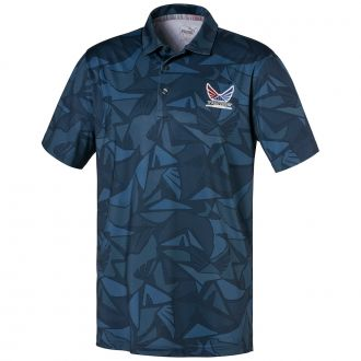Volition Americamo Golf Polo - Dark Denim